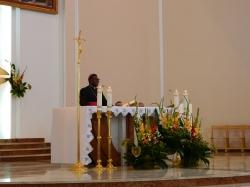 28.08.2016 - Wizyta biskupa z Afryki