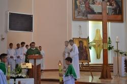 30.08.2015 - Znaki Światowych Dni Młodzieży w naszej parafii